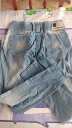Calça jeans (marca: crocker) baratíssima