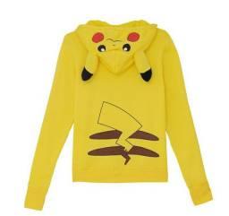 Moletom / Jaqueta Pikachu