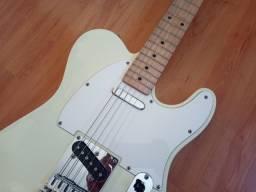 Guitarra Telecaster Squier artic white violão Takamine Cort fender Yamaha