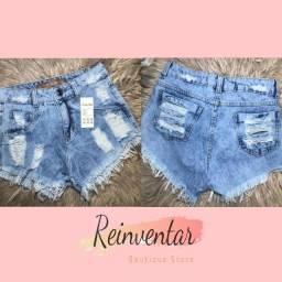 Roupas Lindas Short Jeans 36 R$55,00