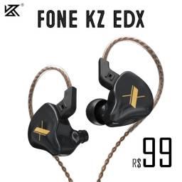 Fone Profissional Kz EDX Novo, Original e a Pronta Entrega