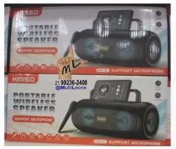 Caixa De Som Portatil Bluetooth Usb Wireless Speaker Kimiso mod KM-S6