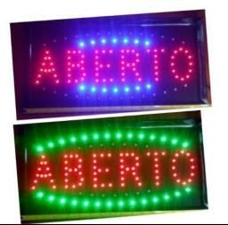 Placa De Led Letreiro Luminoso Painel (Loja Fisica)