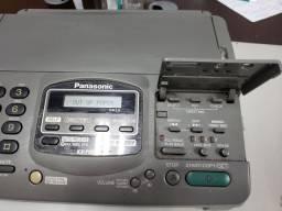 Fax telefone e secretária eletrônica Panasonic  funcionando- retirar no campo belo SP