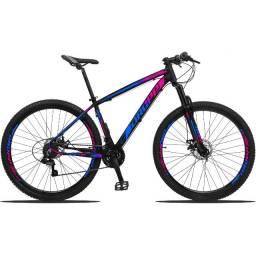 Bicicleta Aro 29 Dropp 21V Alumínio Câmbios shimano Freios A Disco Mec