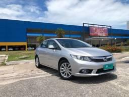Honda civic 1.8 lxs automático flex 2013 - jpcar
