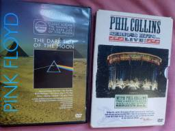 DVDs Pink Floyd e Phill Collins