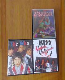 DVD Kiss Saxon Jean Michel Jarre The Who The Pretenders Emerson Lake Palmer Outros