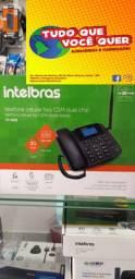 Telefone Celular Fixo Rural Cf 4202 Com Internet Intelbras