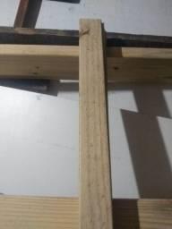 Batente de porta e guarnição com 2.12 altura por 0.95 comprimento