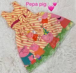 R$ 239,00 Kit 10 Vestidos Infantis Temáticos Atacado