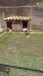 vendo um cercado p coelho e um viveiro