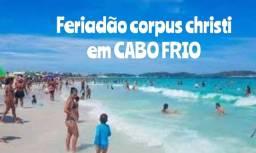 Feriadão corpus christi em CABO FRIO