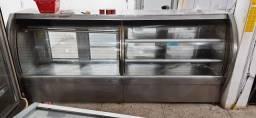 Balcão expositor freezer horizontal