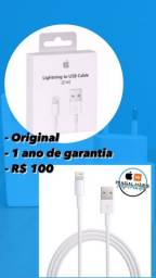 Cabo USB pra iPhone original