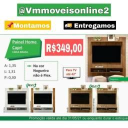 Painel Home Para Tv Capri Últimas Unidades Fazemos Entrega em Goiânia e Aparecida