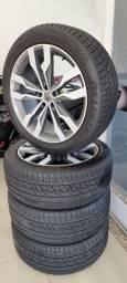 Título do anúncio: Jogo de rodas e pneus aro 22 pra Amarok