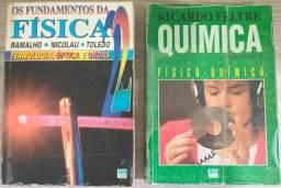 2 Livros Física e Química
