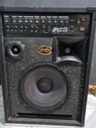 Caixa amplificada LL600