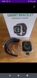 Título do anúncio: 2 pares de fones + 1 smartwatch