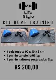 Kits para treinos em casa - Monte seu kit e ganhe desconto
