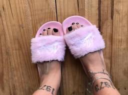 sandália missy rosa