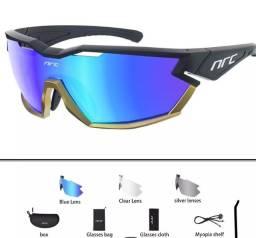 Título do anúncio: Óculos ciclismo 3 lentes nrc