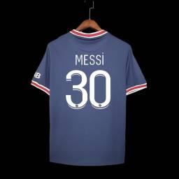 Título do anúncio: Camisa PSG com Nome TAM G R$139,90