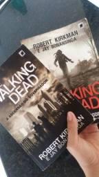 Livros 1 e 2 de The walking dead