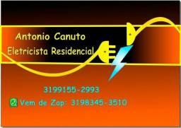 Título do anúncio: Eletricista residencial