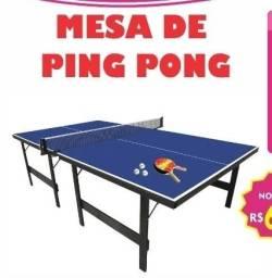 Mesa de Ping Pong completa/ Mesa de Tênis profissional