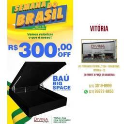 Título do anúncio: Baú Big Space com preço promocional R$300,00 de desconto.