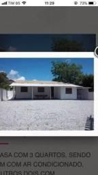 Título do anúncio: Casa de Praia á 50 metros do Mar(Praia da Pinheira-SC)