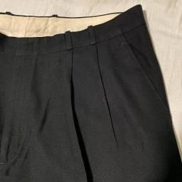 Calça social preta 48 vintage