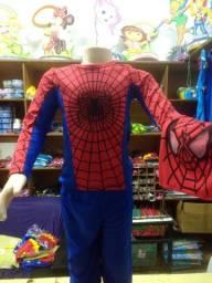 Fantasia infantil do Homem Aranha