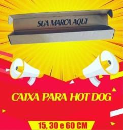 Caixa de papelão para Hot-Dog