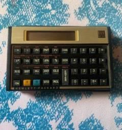 Calculadora financeira Hp 12c gold original com capa