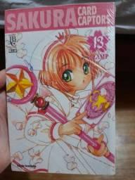 Título do anúncio: Mangás Sakura card captor vol. 13 e 14