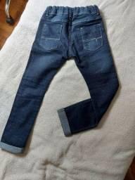 Calça jeans infantil unissex