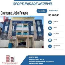Apartamento para Locação em João Pessoa, Gramame, 2 dormitórios, 1 suíte, 1 banheiro, 1 va