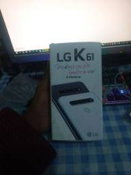 LG K61, Seminovo na caixa + Carregador e Chave