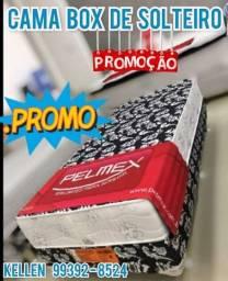 Título do anúncio: cama box de solteiro - pelmex - promoção ***