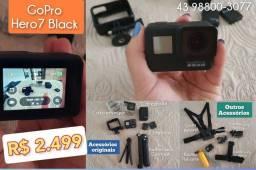GoPro Hero 7 com acessórios