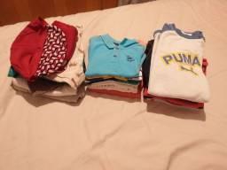Vendo lotinho de roupa menino
