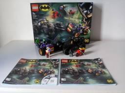Lego DC Batman Perseguição Triciclo do Joker Coringa