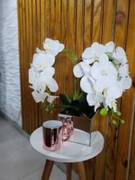 Arranjo Orquídea Silicone toque Real