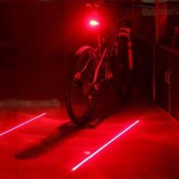 Led segurança  bicicleta