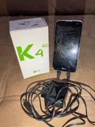 Celular LG K4 4G (K130F)
