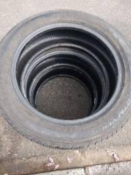 Título do anúncio: 3 pneus Caminhonete SUV 225/55 R18 Pirelli Scorpion Verde os 3 por 60,00