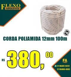 Título do anúncio: Corda Poliamida 12mm 100 metros